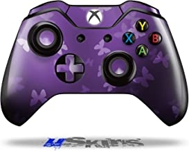 Bokeh Butterflies Purple - Decal Style Skin fits Original Microsoft XBOX One Wireless Controller (CONTROLLER NOT INCLUDED)