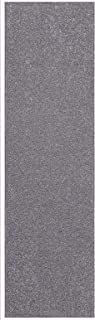 Home Queen Solid Grey Color Custom Size Runner 4' x 14' - Area Rug