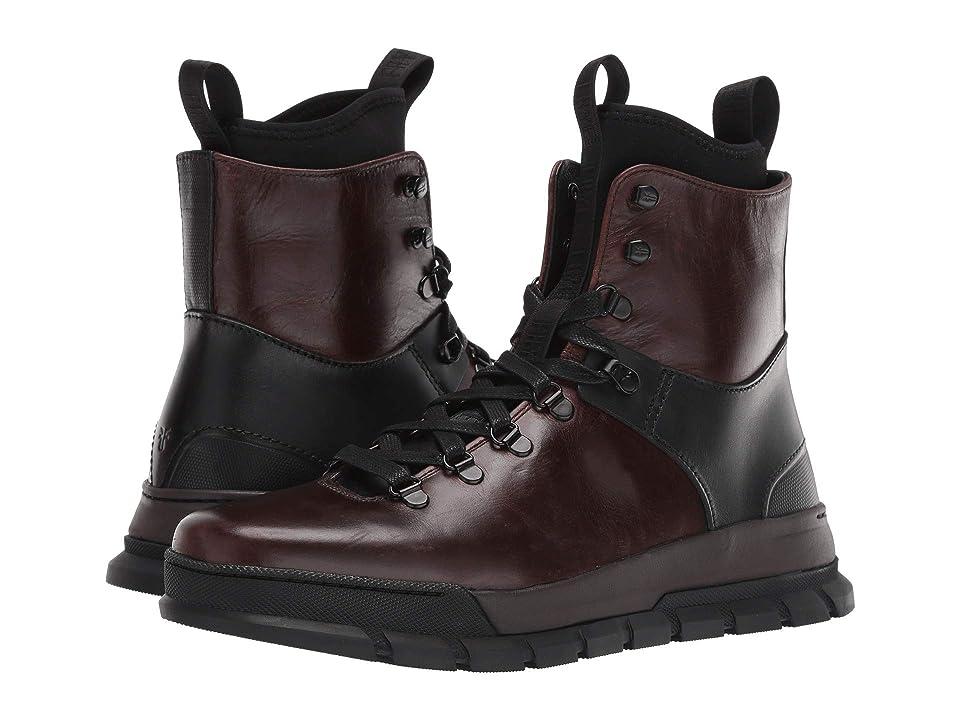 Frye Explorer Hiker (Dark Brown Multi Smooth Pull-Up/Smooth Full Grain) Men