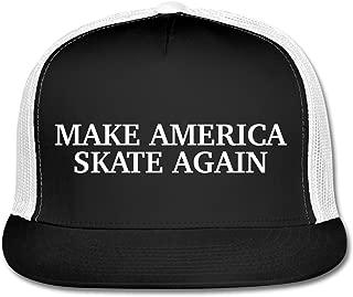 Best make america skate again hat white Reviews