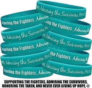 ovarian cancer silicone wristbands