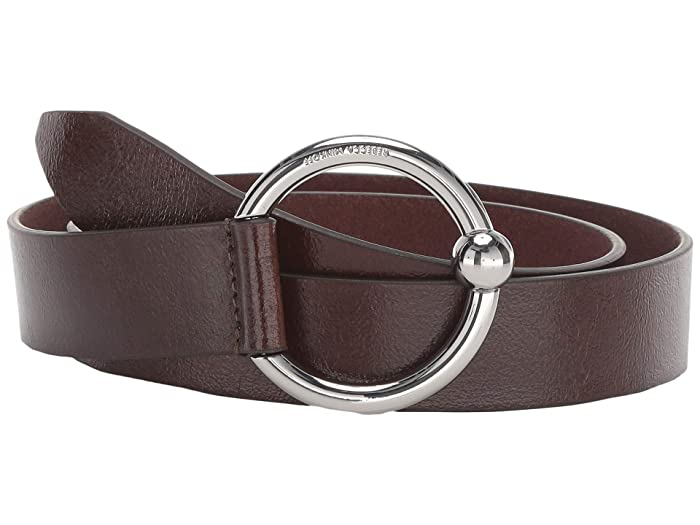 Rebecca Minkoff 31 mm O-Ring Belt (Earth) Women