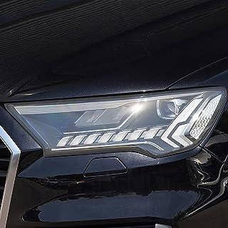NCUIXZHFilme protetor do farol da luz frontal transparente do carro em TPU, para Audi Q2 Q3 Q5 Q7 4M Q8 SQ2 SQ5 SQ8 RSQ3 ...