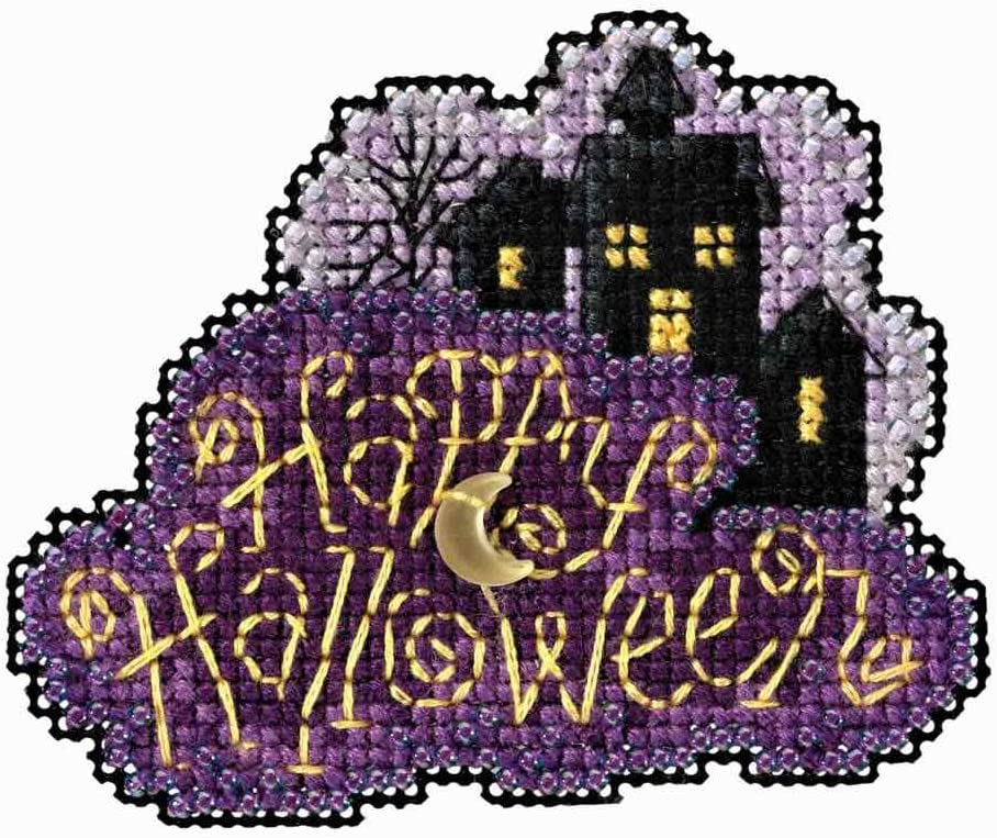Mill Hill High quality new Moonlit Night Beaded Counted 2021 model Halloween Or Cross Stitch