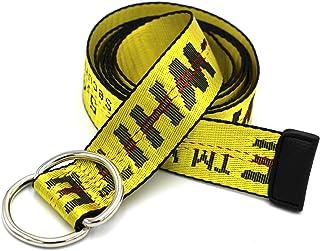 Alins Canvas Belt Double D-Ring Buckle 1.5