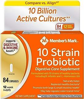 Member's Mark 10 Strain Probiotic (84 ct.)