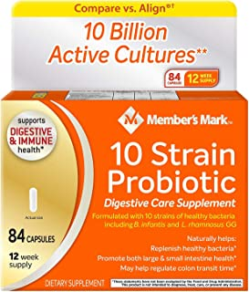 Member's Mark 10 Strain Probiotic (84 ct.)