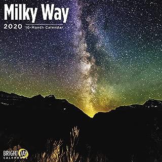 2020 Milky Way Calendar 16 Month 12 x 12 Wall Calendar by Bright Day Calendars