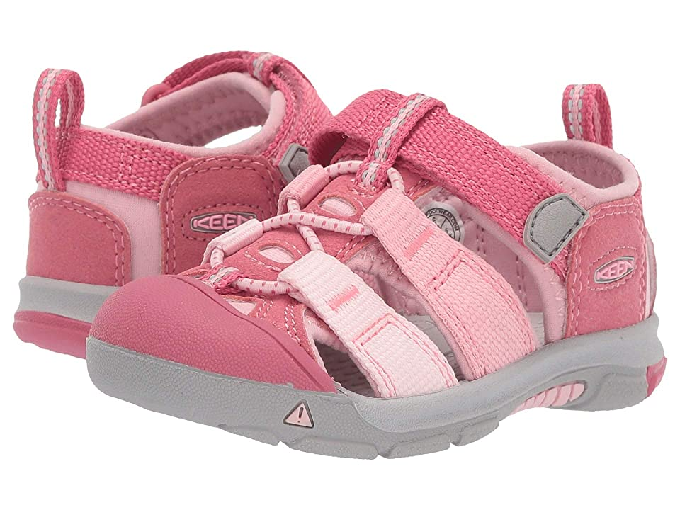 Keen Kids Newport H2 (Toddler) (Rapture Rose/Powder Pink) Kids Shoes