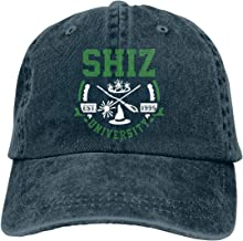 Shiz University Wicked Musical Unisex Adult Cowboy Hats Classic Baseball Cap Denim Hats Dad Hat