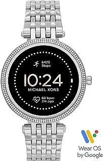 Michael Kors montre connectée Femme Gen 5E Darci avec haut-parleur, fréquence cardiaque, GPS, NFC et alertes pour smartphones