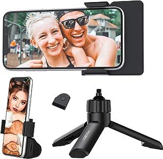 Yoozon Bluetooth Phone Tripod,Mini SelfieStick Tripod Stand Holder Head Standard Screw Adapter with Wireless Remote Shutt...