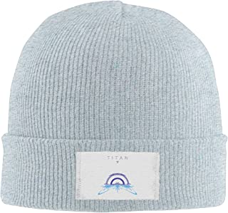 Amone Destiny Plan Warloc Winter Knitting Wool Warm Hat Black