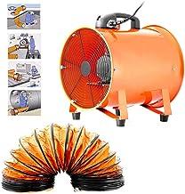Ventilador Extractor Portátil Axial apuntador taller