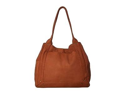 Lucky Brand Wren Tote (Umber) Tote Handbags