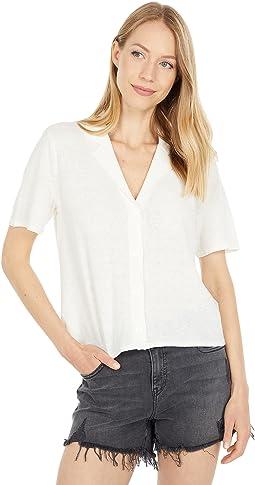 Baseline Short Sleeve Button-Up