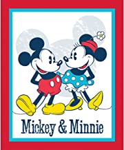 Disney Mickey and Minnie Vintage Fabric from Springs Creative Sold by The Panel