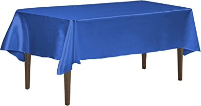 LinenTablecloth 126 Inch Rectangular Satin Tablecloth