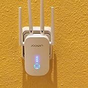 JOOWIN Repetidor WiFi 1200Mbps Amplificador Señal WiFi Banda ...