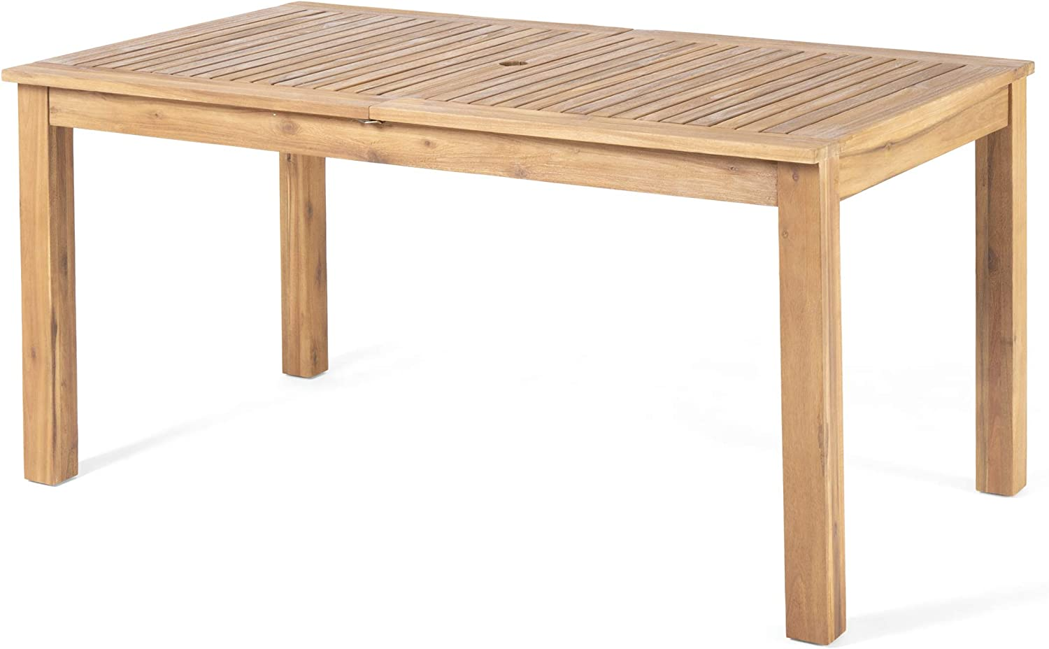 Best Overall: Christopher Knight Home Expandable Dining Table.