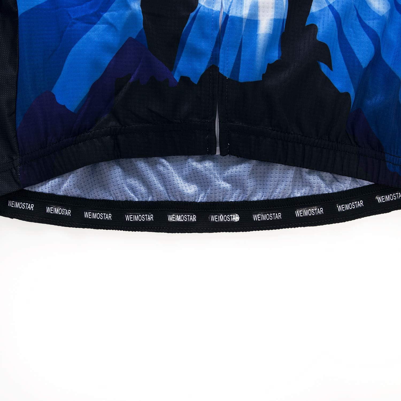 Mens Cycling Jersey Long Sleeve Pro Brand Team Reflective Bicycle Shirts Jacket USA