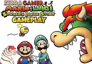 Clip: Mario & Luigi Bowser's Inside Story Gameplay - Zebra Gamer
