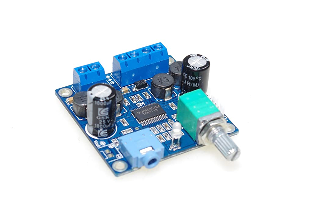 SMAKN? TPA3118 numeric 12V power amplifier board finished board /with switch potentiometer /Parallel Mono