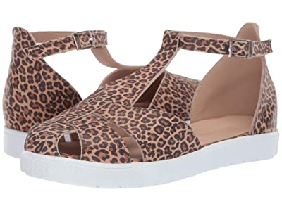 Elephantito T Strap Sandal (Toddler/Little Kid/Big Kid) (Leopard) Girls Shoes