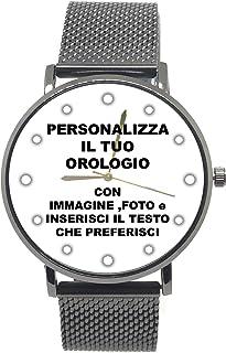 Amazon.it: personalizzati: Orologi