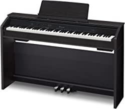 Casio PX860 BK Privia Digital Home Piano, Black with Power S