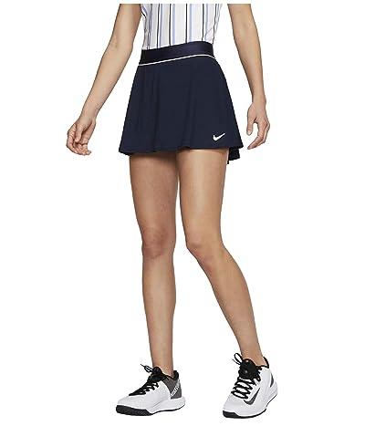 Nike Court Dry Skirt Flouncy (Obsidian/White/White) Women