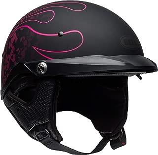 Bell Pit Boss Open-Face Motorcycle Helmet (Catacomb Pinstripe Pink, Medium)