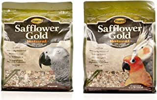 Higgins Pet Food Safflower Gold Large Hookbill 25lb
