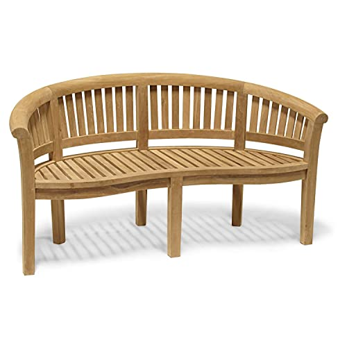 Teak Garden Bench Amazon Co Uk