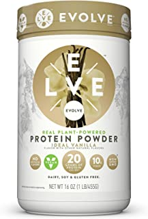 Evolve Protein Powder, Ideal Vanilla, 20g Protein,1 Pound