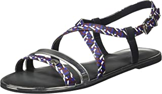 Tommy Hilfiger Women's Th Monogram Flat Sandal Fashion