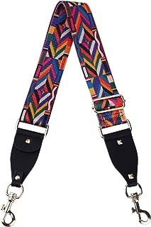 VanEnjoy Purse Strap Replacement Multicolor Nylon Aajustalble Crossbody Bag Straps for Handbags - 2