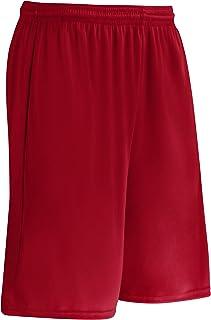 CHAMPRO Clutch Z-Cloth Dri-Gear Short; Women's, Scarlet, Large