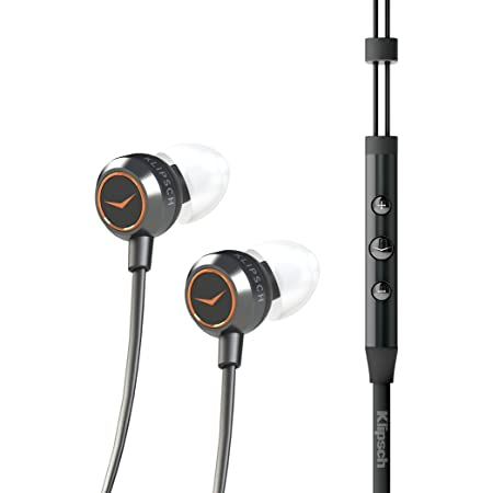 Klipsch 1015882 X4i Earbuds with Playlist Control for iPod/iPhone/iPad - Silver/Black (Renewed)