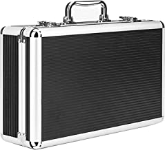 KDMB Multifunctionele gereedschapskist, draagbaar, gereedschapskist, make-upbox, opvouwbaar, voor thuis, organizer, groot,...