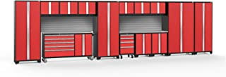 NewAge Products Bold 3.0 Red 15 Piece Set, Garage Cabinets, 56538