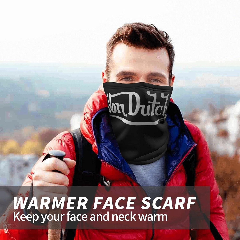 Von Dutch Men's and Women's Neck Guard Face Mask Face Mask Neck Guard Leg Guard Balaclava