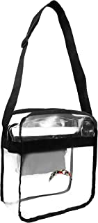 Littlearth NFL Los Angeles Chargers Clear Carryall Crossbody Bag