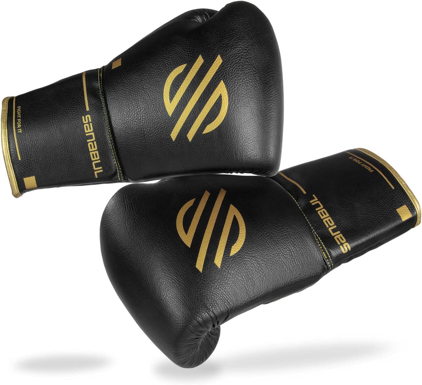 Sanabul Gorgeous Gold Strike Professional Gloves Boxing Wholesale