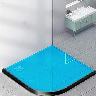 Water Retaining Strip Shower,Silicone Wet Room Bathroom Floor Seal,Collapsible Shower Threshold Water Dam Water Flood Barr...