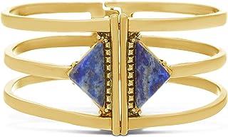 Steve Madden Women's Alloy 3 Strand Bangle Bracelet - SMG412550BL