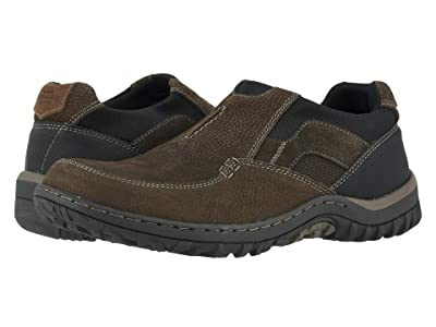 Nunn Bush Quest Moc Toe Slip-On (Brown) Men