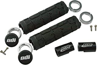 Riva Racing SeaDoo Spark Billet Handlebar Extension Kit With ODI Lock-On Racing Grips (Fits ALL 2016-2019 Spark Models)