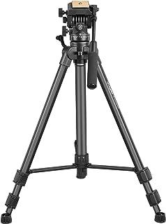 DIGITEK® DPTR 880 PRO (65 Inch) Aluminum Light Weight Tripod   with Fluid Video Head   for DSLR & Video Cameras  Maximum O...