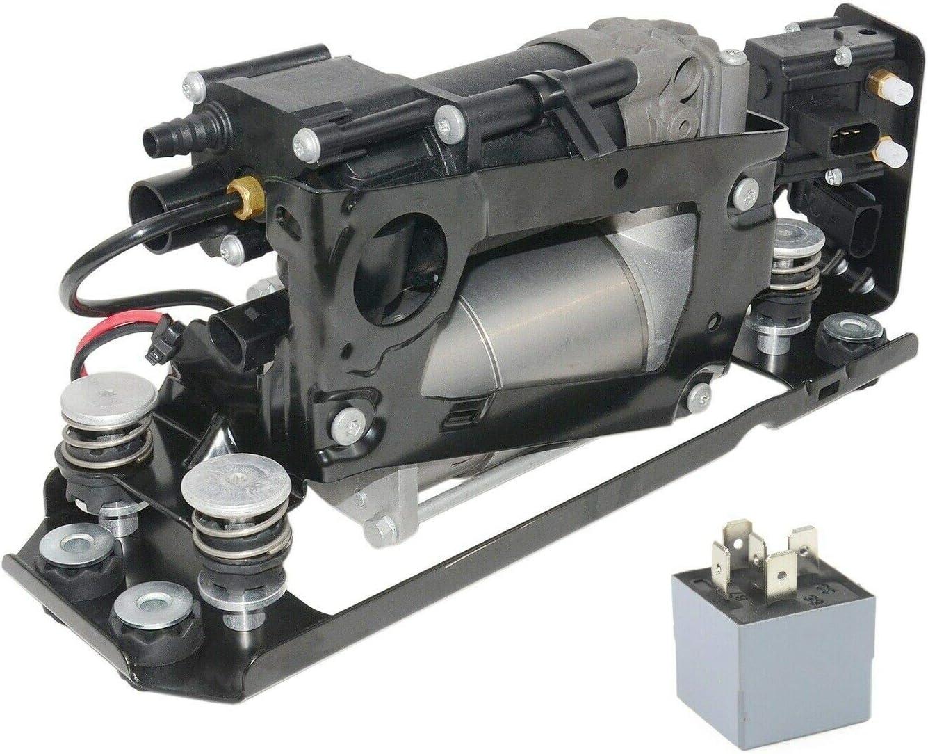 Air Suspension Low price Compressor Pump with + Block Bracket Relay El Paso Mall Valve